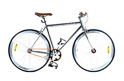 +++ Der Silberpfeil +++ Herren Fixie / Starrgangrad, Singlespeed, Herrenrad 28