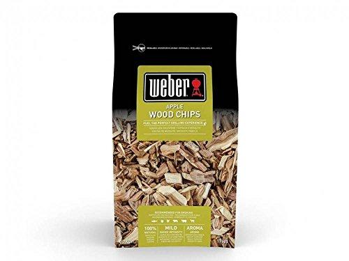 Weber 17621 - chip Saco ai fumatori - mela