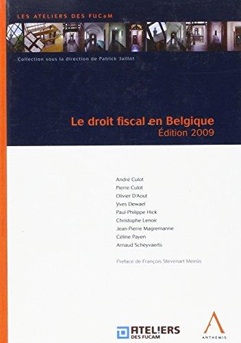 Droit fiscal en belgique (le)