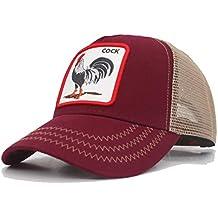 JJJRMP Gorra De Béisbol Hombres Gorros Snapback Sombreros De Mujer para  Hombre Hip Hop Malla Summermale 94e88f8232b