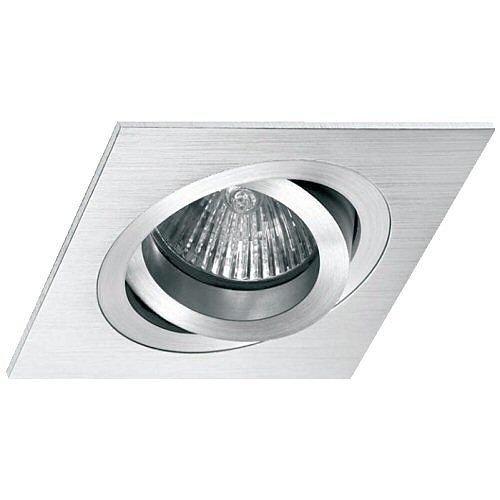 Empotrable Aluminio cepillado