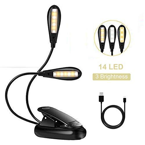 EFGS Lámpara Escritorio LED Luz portátil lámpara