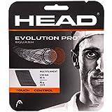 Head Evolution Pro Squash String 17L (Black)