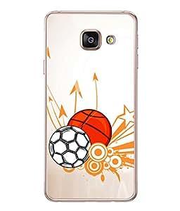 PrintVisa Designer Back Case Cover for Samsung Galaxy A7 (6) 2016 :: Samsung Galaxy A7 2016 Duos :: Samsung Galaxy A7 2016 A710F A710M A710Fd A7100 A710Y :: Samsung Galaxy A7 A710 2016 Edition (Pattern Design Team Soccer Ball Graphic Championship)