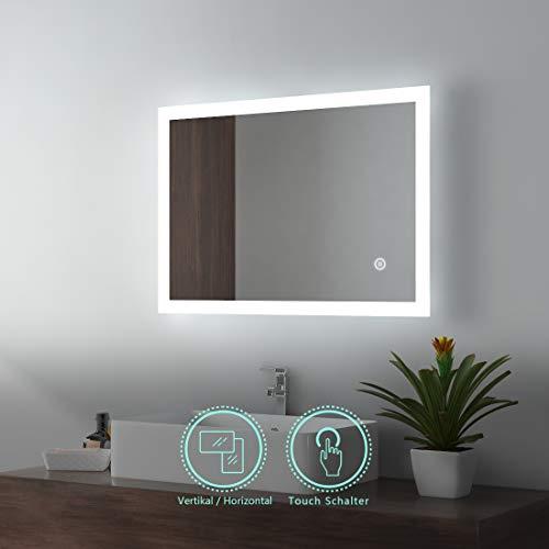LED-Lichtspiegel EMKE Badspiegel