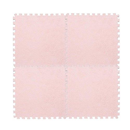 samLIKE 30 * 30 cm Kinder Teppich Schaum Puzzle Matte EVA Shaggy Samt Baby Eco Floor7colors (G)