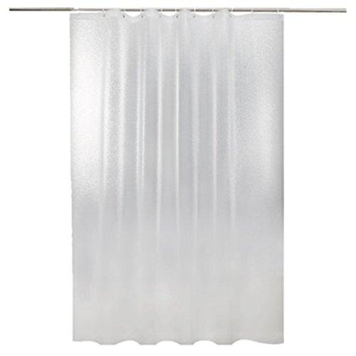 Rideaux de douche Salle de bains imperméable matérielle de rideau en douche d'EVA accrochant plus épaisse découpée givrée (taille : 280×200CM)