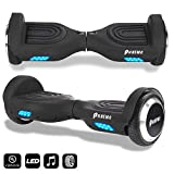 Hoverboard Bluetooth avec LED et Sac de Transport, 6,5 Pouces Hover Board,Self...