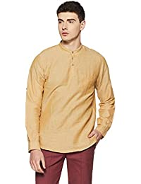 Cherokee Men's Solid Slim Fit Casual Shirt