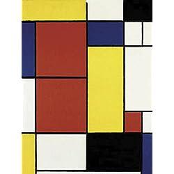 Impresión sobre lienzo (Canvas Prints) Piet Mondrian Composition II