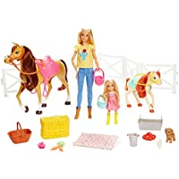 Barbie FXH15 Hug n Dolls Horses and Accessories