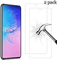AG [2-Pack] Screen Protector for Samsung Galaxy Note 10 Lite/Samsung A81, Ultra slim HD 2.5D Premium Tempered