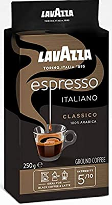 Lavazza Caffe Espresso Ground Coffee 250 g (Pack of 6) from Lavazza