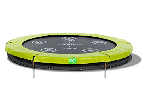 EXIT Trampolin Twist Ground rund Ø 244 cm grün/grau 12.61.08.01