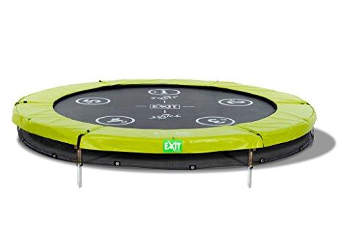 EXIT Bodentrampolin Twist Ground rund Ø 183 cm grün/grau 12.61.06.01