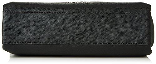 Calvin Klein M4RISSA Flat Crossbody, Sacchetto Donna, 22x7x23 cm (b x h x t) Nero (Black)