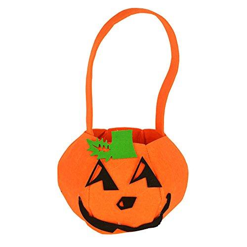 OverDose Damen Baby-Mädchen-Jungen-Kürbis-Speicher-Halloween-Zusatz-Beutel-Einzelne Handtaschen-Taschen-Partei Cosplay wesentliches -