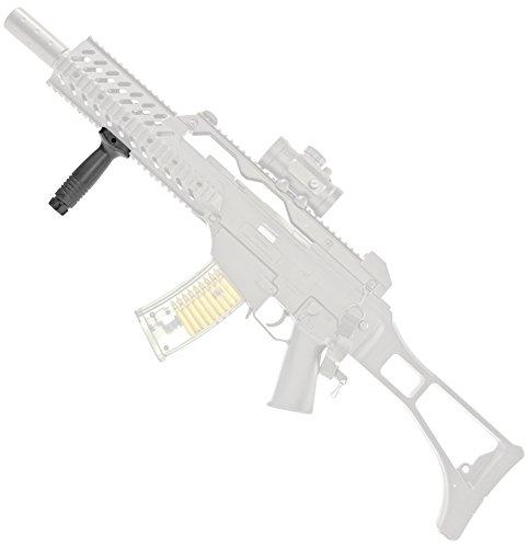 Nick and Ben Hand-Griff Front-Halterung Kunststoff für Softair-Gewehr 22 mm Weaver RIS Schiene Airsoft Schraub-Befestigung (Gewehr-schiene)