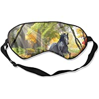 Sleep Eye Mask Black Horse Running Lightweight Soft Blindfold Adjustable Head Strap Eyeshade Travel Eyepatch E5 preisvergleich bei billige-tabletten.eu