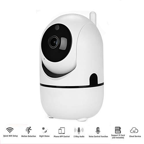 Videocamera HD 1080P Wireless IP Camera 32G SDcard- WiFi Camera Home Security Pan/Tilt/Zoom Coperta per Il Bambino/Nanny Monitor con Visione Notturna, Motion Tracker, rilevazione Audio