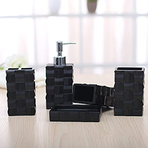 Nozze da bagno di cortesia bagno di resina romantico Manor House 5 Kit (Manor House Della Serie)