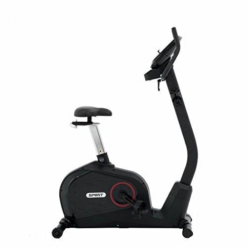Spirit Upright Bike DBU 60 – Heimtrainer, Fitness Indoor Bike, Ergometer mit Hand-Puls-Sensoren - 5