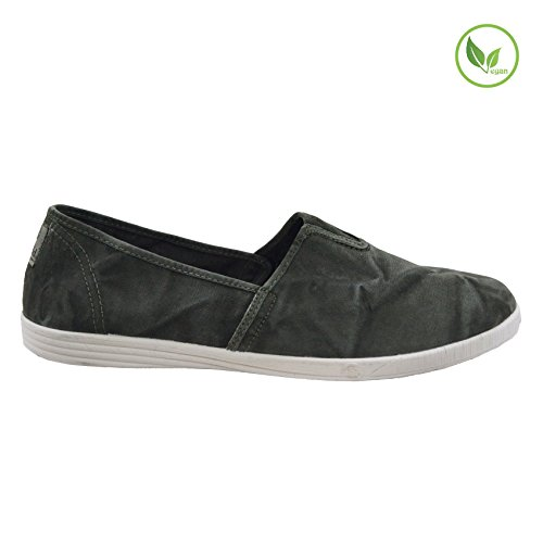 Natural World 305E/623 hommes Mocassins, KAKI ENZI