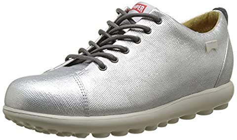 Camper Pelotas Step, Sneakers Basses Femme, Gris (Medium Grey 001), 40 EU