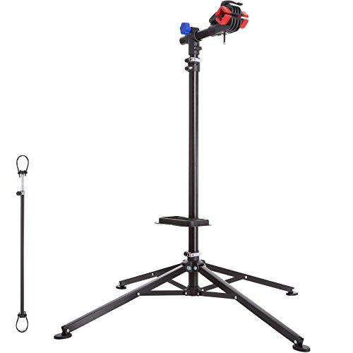 TecTake Support de Montage Vélo, Pied d'Atelier d'entretien de Réparation Charge 25 kg Réglable...