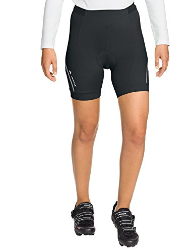 Vaude Damen Hose Advanced Shorts II, Black, 34, 06700