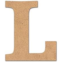 Detalles Infantiles - Letra madera manualidades 10cm L