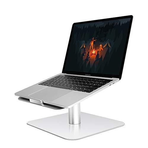 Supporto espositore per computer portatile, lavagna girevole a 360° antiscivolo, altezza regolabile, raffreddamento per computer portatile, in alluminio, supporto per laptop, tablet, libri, divisorio