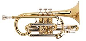 BACH CORNET SIb PROFESSIONNEL BACH 184SML ARGENT Trumpets & cornets Student Bb Cornet