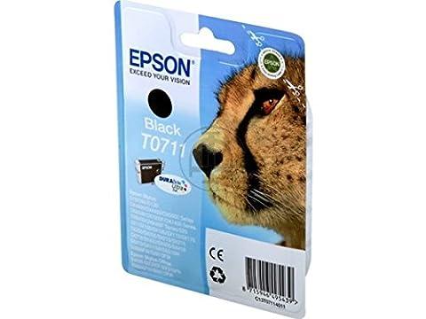 Epson Stylus SX 215 (T0711 / C 13 T 07114011) - original - Tintenpatrone schwarz - 245 Seiten -