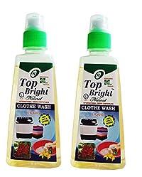 Top Bright Cloth wash Liquid,600ml,Pack of 2