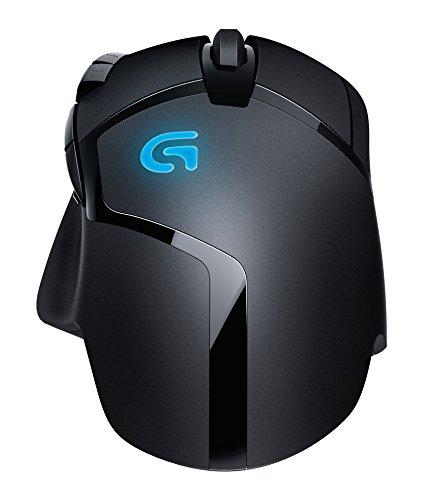 Logitech G402 Hyperion Fury FPS Gaming Mouse (mit 8programmierbaren Tasten, USB) schwarz - 6