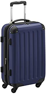 HAUPTSTADTKOFFER - Alex- Carry on luggage On-Board Suitcase Bag Hardside Spinner Trolley 4 Wheel Expandable, 55cm, dark blue (B00XJJ5TM8) | Amazon price tracker / tracking, Amazon price history charts, Amazon price watches, Amazon price drop alerts