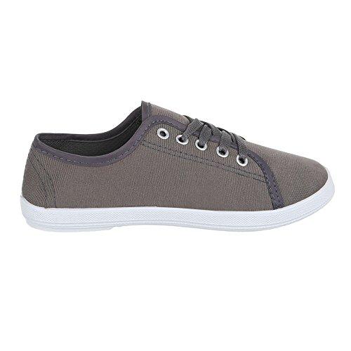 Ital-Design, Sneaker donna Grigio (grigio)