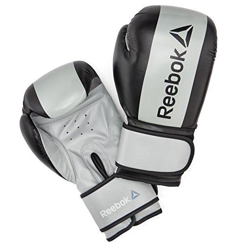 Reebok RSCB-11116GR-10 Guantes de Boxeo, Gris