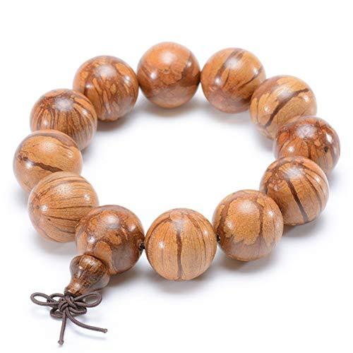 TDPYT Buddha Charm Bangle Bauhinia Perlen Armband Feine Textur Traditionelle Chinesische Medizin Gesundheitswesen Männer Schmuck