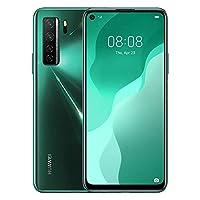 "HUAWEI Nova 7 SE, 5G Dual-SIM Mobile Phone, 64 MP AI Quad- Camera, 128 GB 8 GB RAM , 6.5"" Punch FullView Display, 40 W SuperCharge, Crush Green"