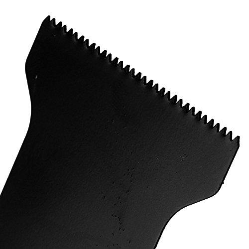 cnbtr 45x 40mm schwarz kohlenstoffreicher Stahl Universal oszillierendes Sägeblatt Multi Tools Set 50Stück