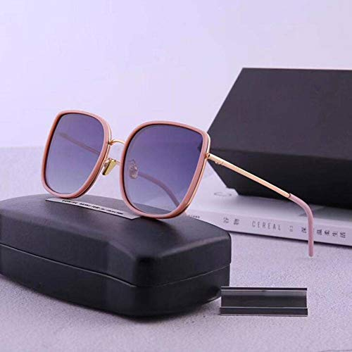QWE MIT DEM Absatz der neuen und Bibi polarisierenden Sonnenbrillen, Mode, Männer und Frauen in Full - Frame - Sonnenbrille, Großes Gesicht Square Brille