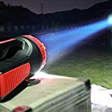 Orlight Outdoor Lighting Flashlight Camping Lamp Tent Light Emergency Lamp Charge Lamp,5W Lighting 50H Range 1000M Camping Outdoor Portable Emergency