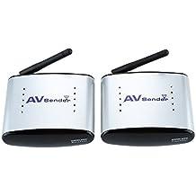 Andoer® Emisor Inalámbrico de Audio & Video Sistema Transmisor & Receptor Inalámbrico 150M PAT-330 2.4G para DVD / DVR / IPTV / CCTV Cámara /