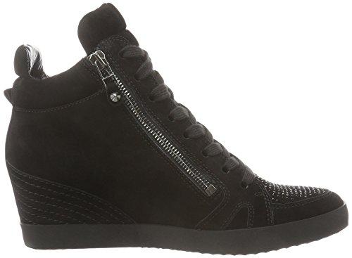 Kennel und Schmenger Schuhmanufaktur Damen Soho Hohe Sneakers Schwarz (schwarz/black Sohle schwarz 480)