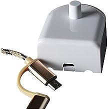 Aptoco Cargador de cepillo de dientes para el reemplazo de cepillo de dientes eléctrico para Braun Oral-B Viajes y uso doméstico