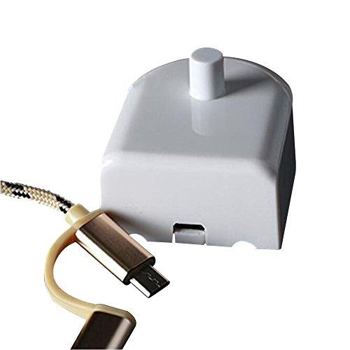 Aptoco Cargador de cepillo de dientes para el reemplazo de cepillo de dientes  eléctrico para Braun 11b03557150a