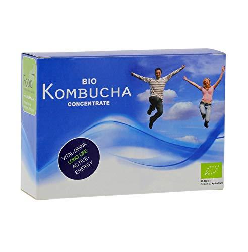 Kombucha 14-Tage-Detox mit Bio Kombucha Kultur Konzentrat, 14 Ampullen, die mit 9 ml...