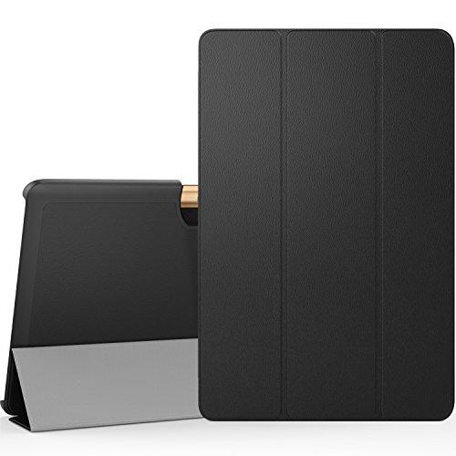 """MoKo Etui Acer Iconia Tab 10"""" A3-A40 - étui à Rabat avec Support Ultra-Mince et Léger pour Tablette Acer Iconia Tab 10 A3-A40 10 Pouces 2016, Noir"""